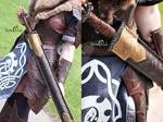 Viking scabbard larp