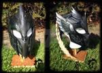 Elvish leather helmet
