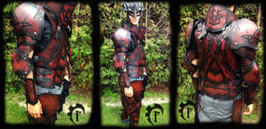 Blood Stag Leather armor
