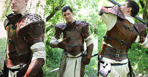 Cleric celtic leather armor