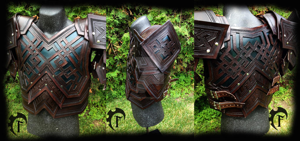 Dwarvish Leather Armor by Feral-Workshop