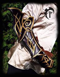 Elvish gauntlet by Feral-Workshop