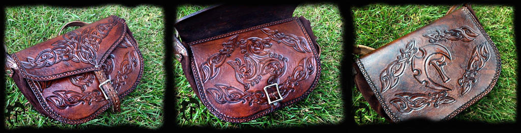 Personal celtic handbag