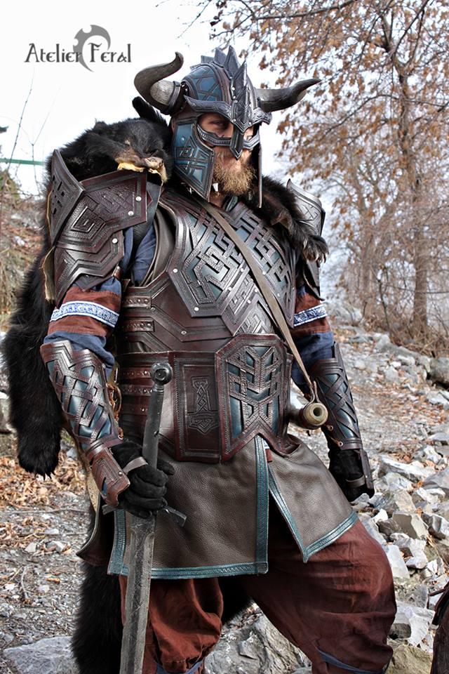 Dwarf Leather Armor by Feral-Workshop