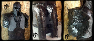 Owl theme dwarvish leather armor