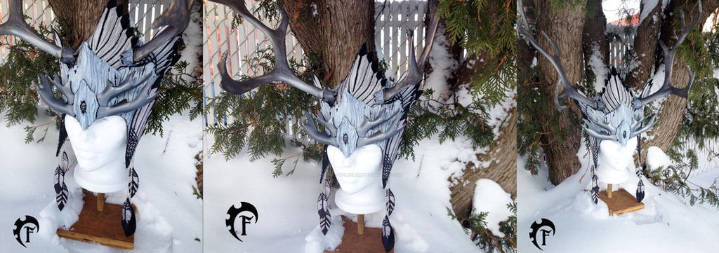 Winter spirit crown