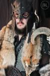 Owl theme leather armor