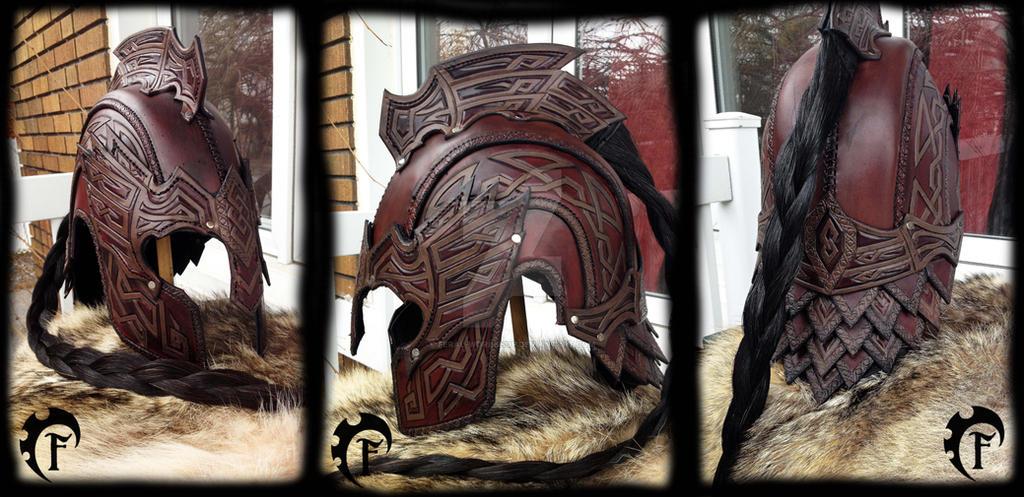Eagle celtic helmet by Feral-Workshop
