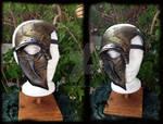 Steampunk half mask