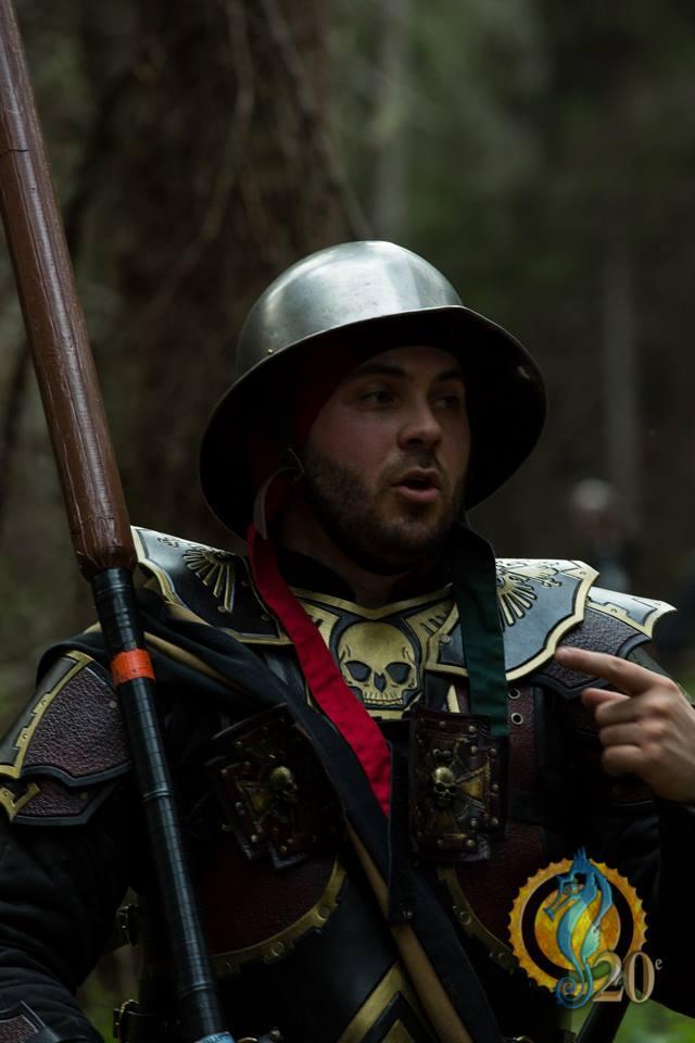 Warhammer armor :) by Feral-Workshop