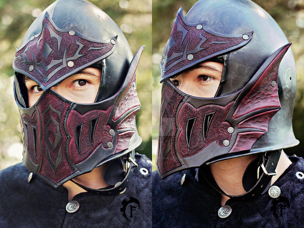 Rhaegar Targaryen helmet by Feral-Workshop