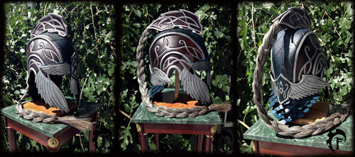 High elf leather helmet