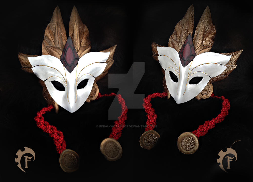 Shadowfire Kindred Mask by Feral-Workshop