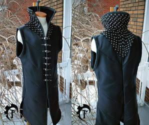 Porthos Leather vest