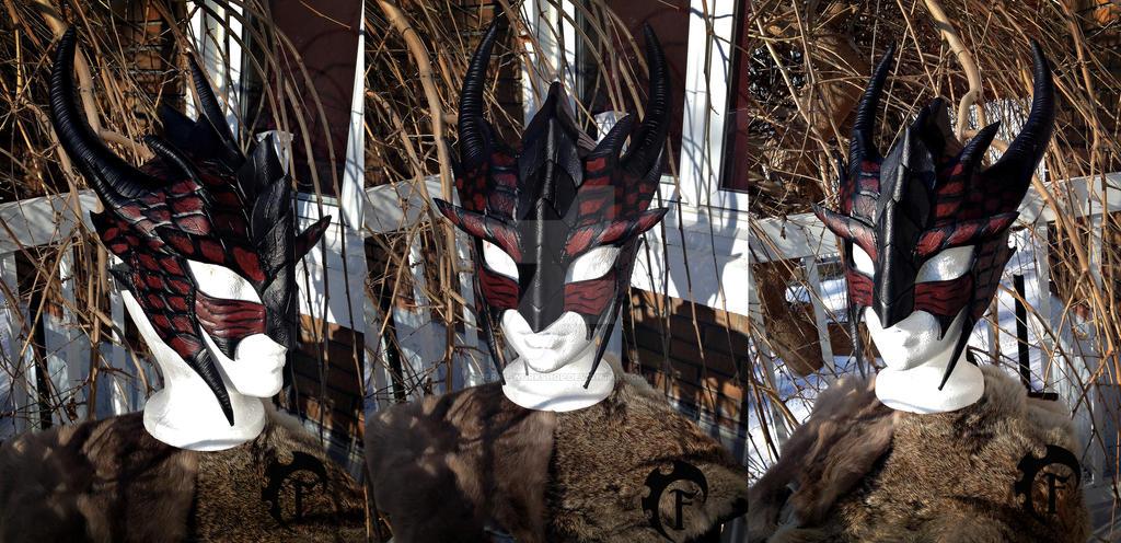 Dragon Leather Mask