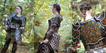 Golden Age Regalia female dwarf armor by Feral-Workshop