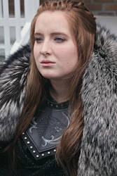 Sansa Stark make up test
