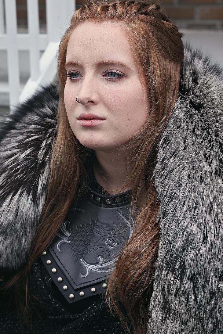 Sansa Stark make up test by Feral-Workshop