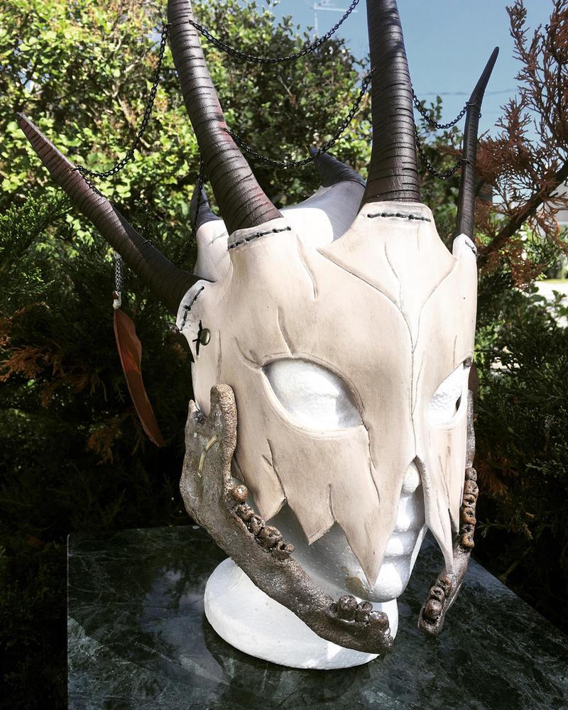 Vodoo mask by Feral-Workshop