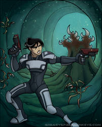 Captain Fisher versus the Halophytes