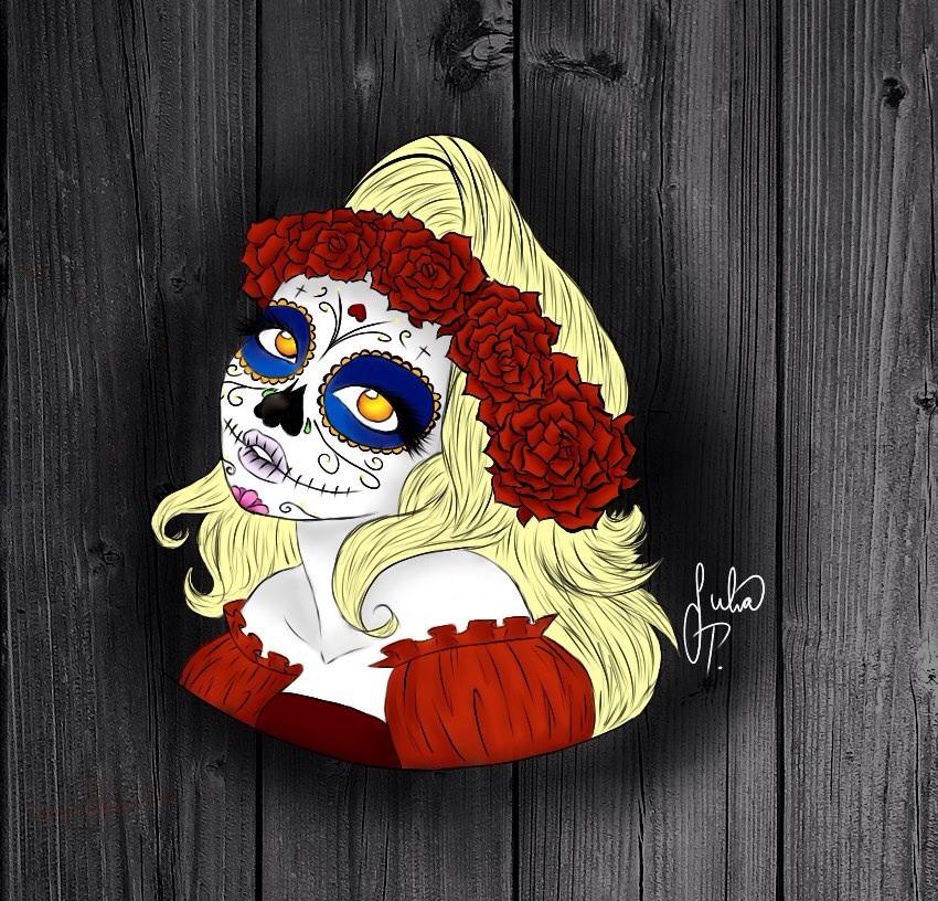 Dia de Los Muertos by Jubs-Color