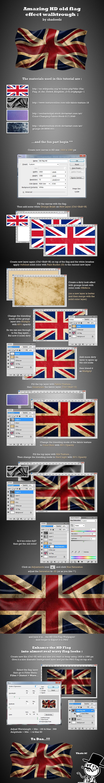 HD Old Flag Effect