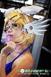 Stray Girl Rin - backstage II by xrysx