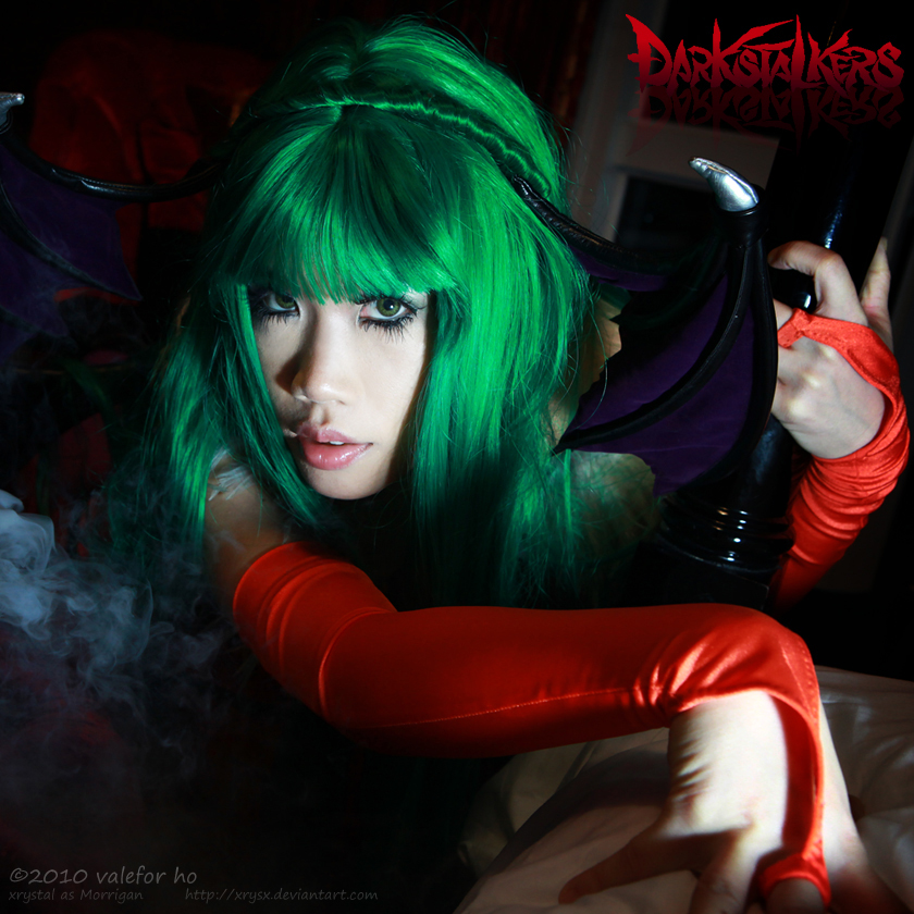 ID: DS - Morrigan by xrysx