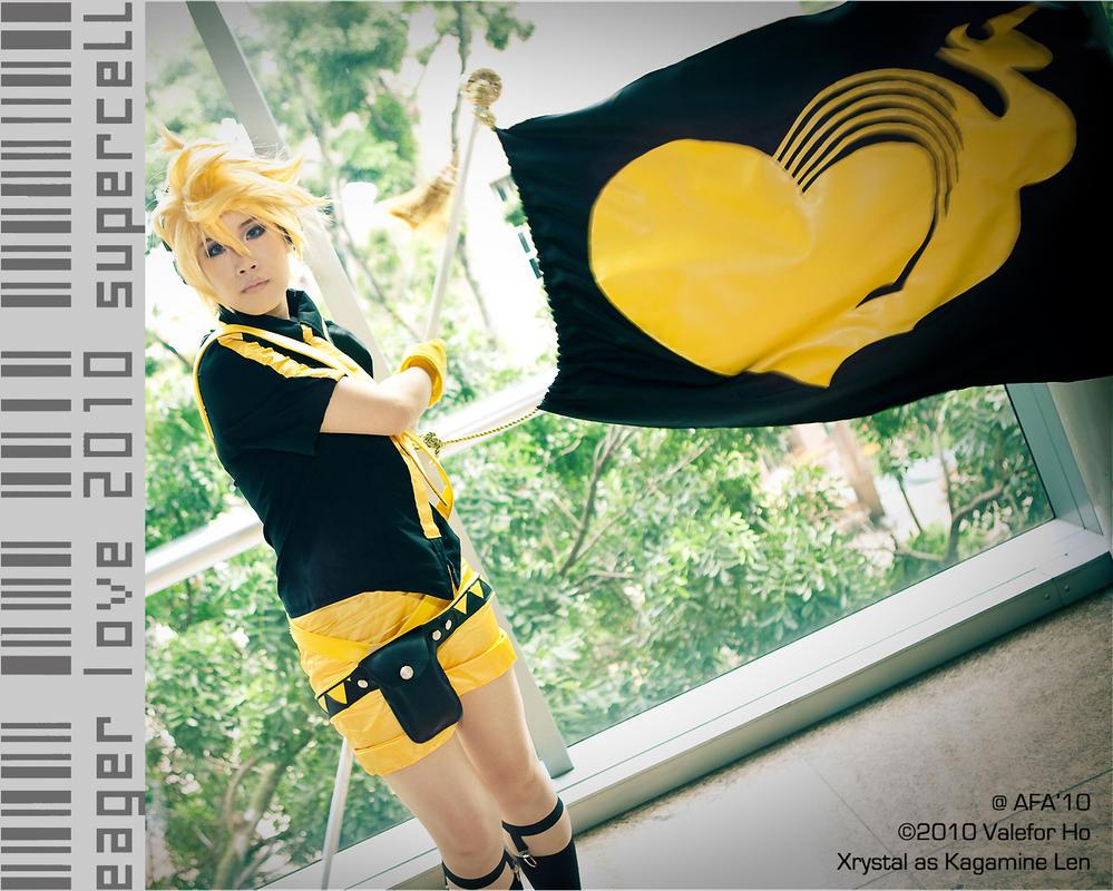 ID: Eager Love Revenge - Len by xrysx