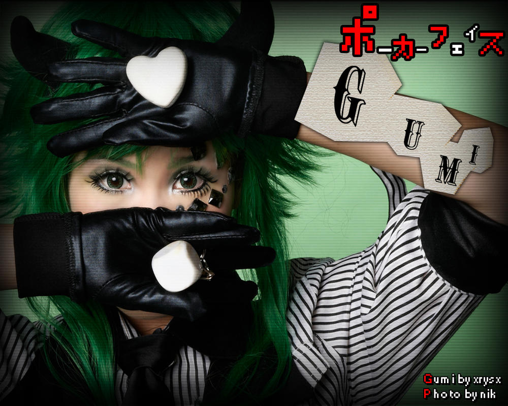 ID: poker face - gumi by xrysx