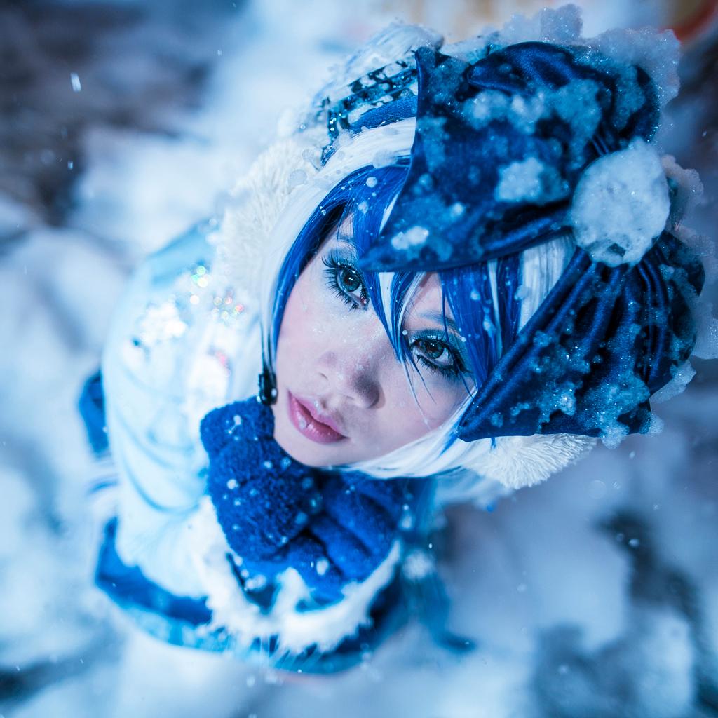 ID: Snow Miku by xrysx