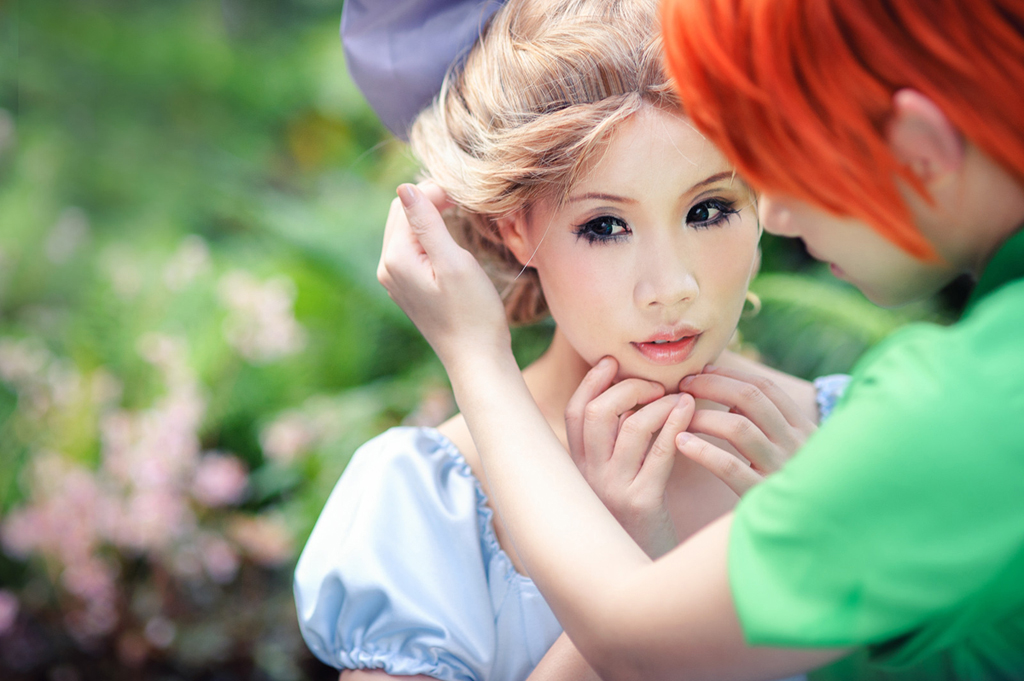 Peter Pan: There's something in your hair by xrysx