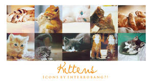 Kittens - Icons by Lhanii