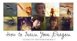 HTTYD - Icons by Lhanii