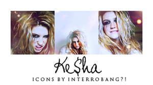 Ke$ha - Icons by Lhanii