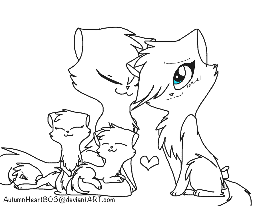 cute warrior cats coloring pages - photo#32
