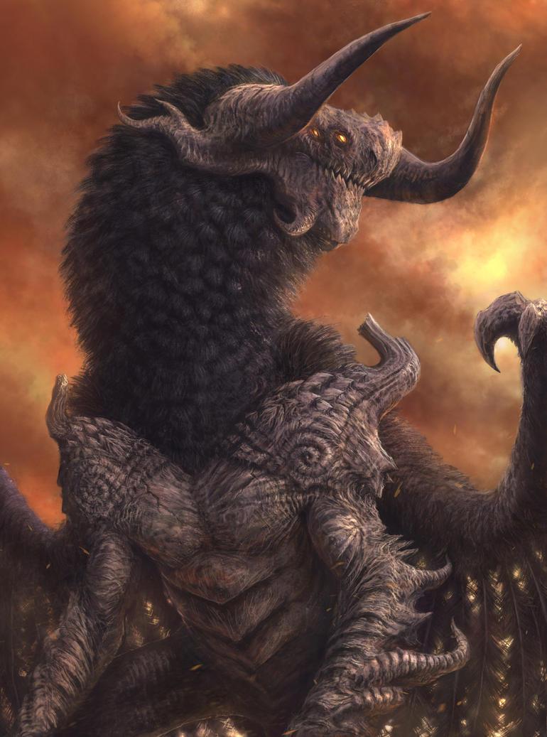 Infernal Dragon by MetolGuy