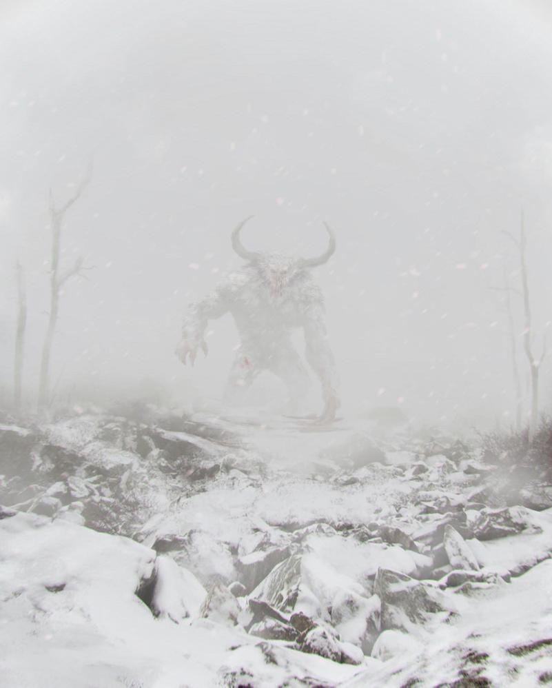 Bighorn Yeti by MetolGuy