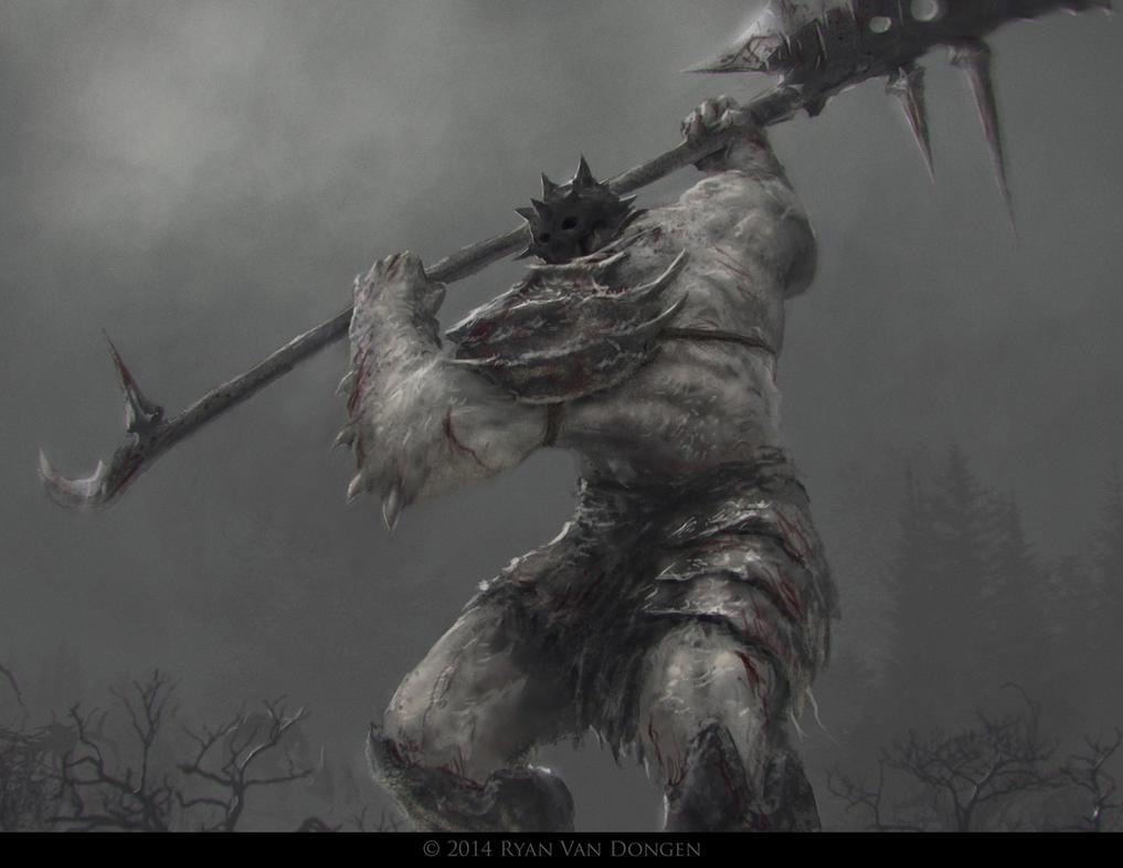 Glaive Warrior Giant by MetolGuy