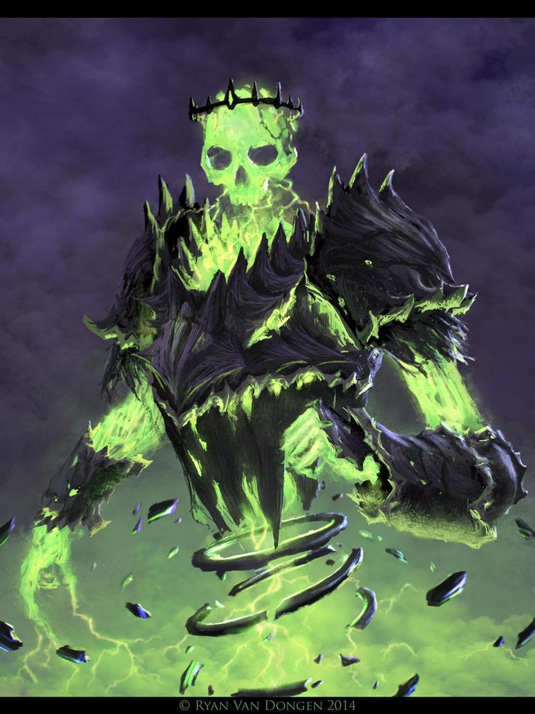 Spectral Tempest Demon by MetolGuy
