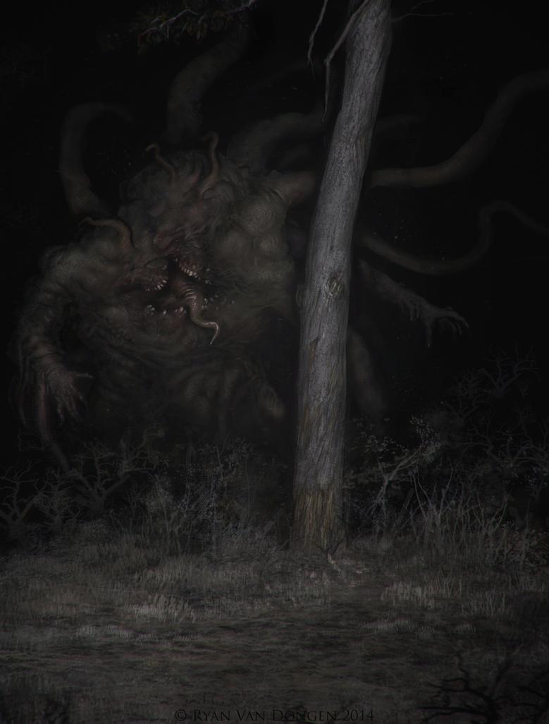Horror in the Woods by MetolGuy