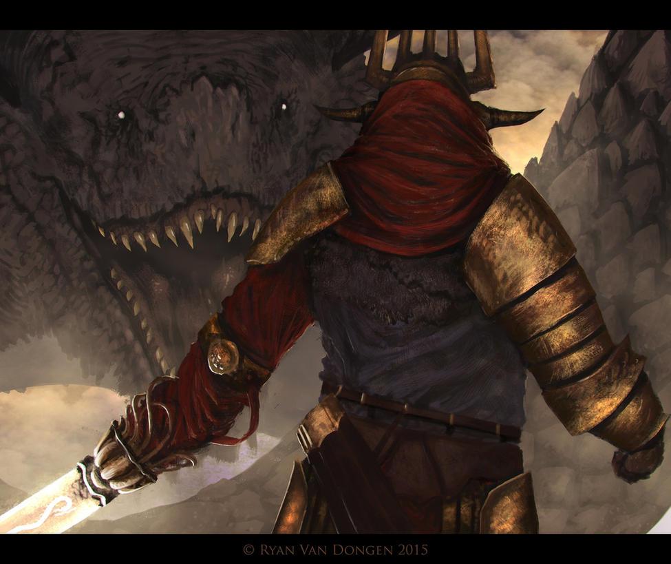 Guardian of Anguis by MetolGuy