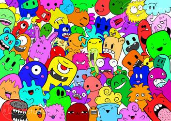 Doodles Monsters