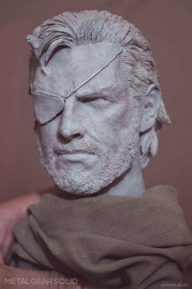 Metal Gear Solid V Phantom Pain - Venom Snake 1:3 by SimonFX