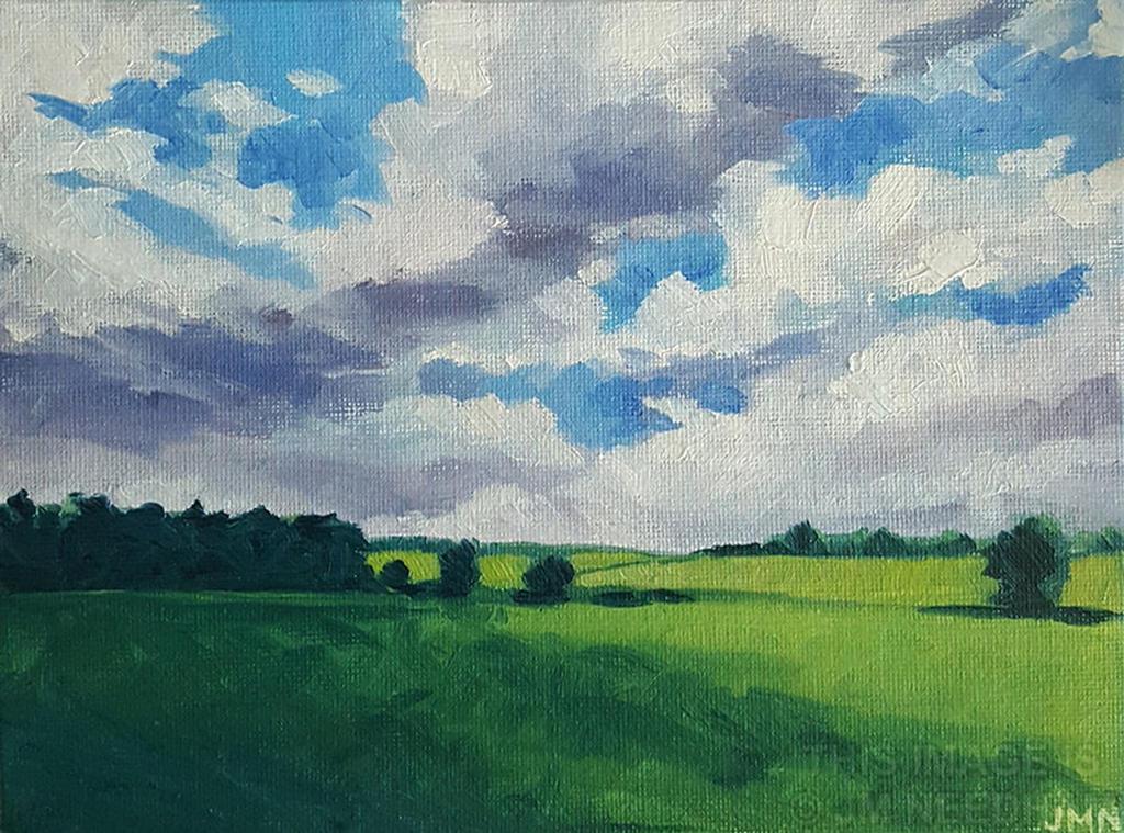 Cloud Shadows by JMNeedhamArt