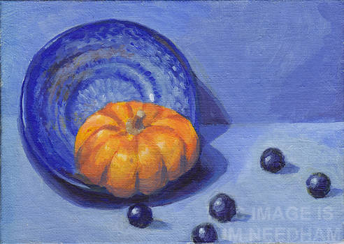 Munchkin Pumpkin and Blueberries