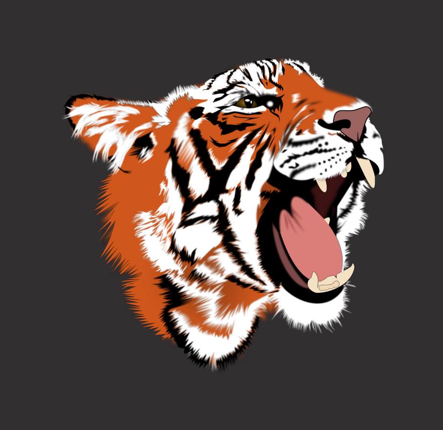 Tiger by trashC4T