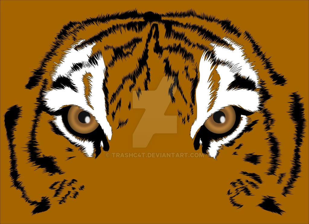 Tiger Eyes by trashC4T