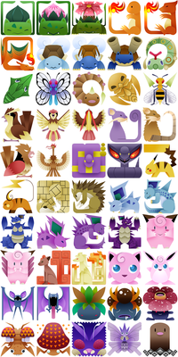 PokeMonster Hunter Icons