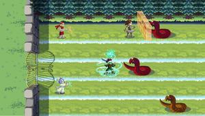 RPG Tower Defense Game Mockup